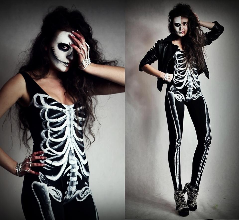 Костюм на хэллоуин своими руками девушке на